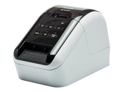 Brother QL-810W – Stampante per etichette – due colori (monocromatico) – carta termica – Rotolo (6,2 cm) – 300 x 600 dpi – fino a 110 etichette/min – USB 2.0, Wi-Fi(n) [ TT289360 ]