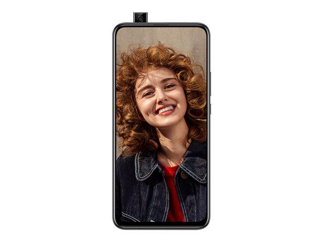 Huawei P Smart Z – Smartphone – dual SIM – 4G LTE – 64 GB – microSD slot, – microSDXC slot – GSM – 6.59″ – 2340 x 1080 pixel (391 ppi) – LTPS TFT – RAM 4 GB (telecamera anteriore 16 MP) – 2x telecamere posteriori – Android – midnight black [ TT797173 ]