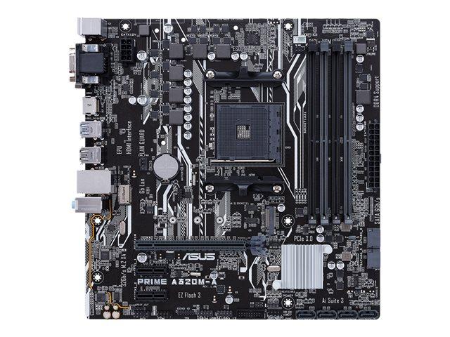 ASUS PRIME A320M-A – Scheda madre – micro ATX – Socket AM4 – AMD A320 – USB 3.1 Gen 1 – Gigabit LAN – scheda grafica (richiesta CPU) – HD Audio (8 canali) [ TT548388 ]