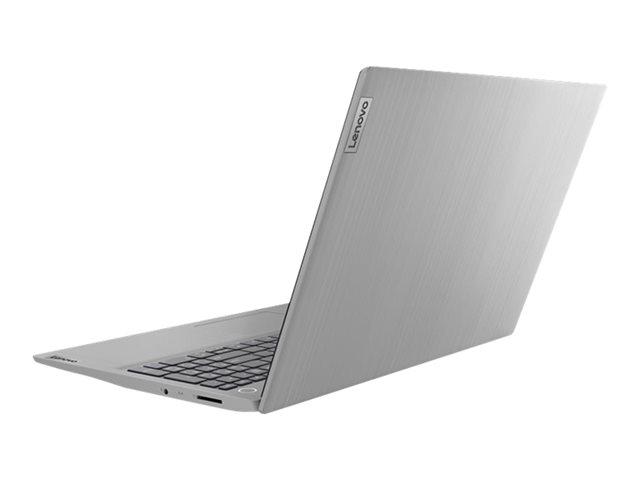 Lenovo IdeaPad 3 15IIL05 81WE – Core i7 1065G7 / 1.3 GHz – Win 10 Home 64 bit – 8 GB RAM – 512 GB SSD NVMe – 15.6″ TN 1920 x 1080 (Full HD) – Iris Plus Graphics – Wi-Fi, Bluetooth – grigio platino IMR – tast: italiana [ TT801268 ]
