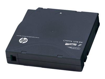 HPE Ultrium Non-Custom Labeled Data Cartridge – 20 x LTO Ultrium 7 – 6 TB / 15 TB – con etichetta codice a barre [ TT195129 ]