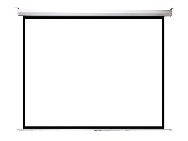 ITB Solution Telo Economy – Schermo per proiezione – montaggio a soffitto, montaggio a parete – motorizzato – 100 pollici (254 cm) – 4:3 – Bianco opaco [ TT785859 ]