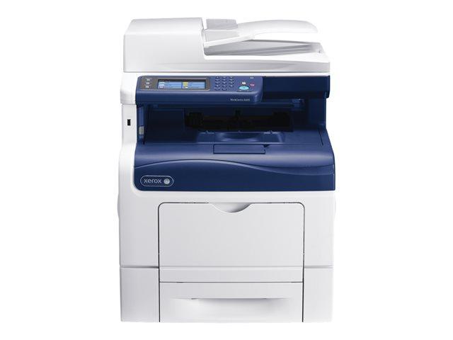 Xerox WorkCentre 6605DN – Stampante multifunzione – colore – laser – Legal (216 x 356 mm) (originale) – A4/Legal (supporti) – fino a 35 ppm (stampa) – 700 fogli – USB 2.0, Gigabit LAN, host USB – Calibrato [ TT715283 ]