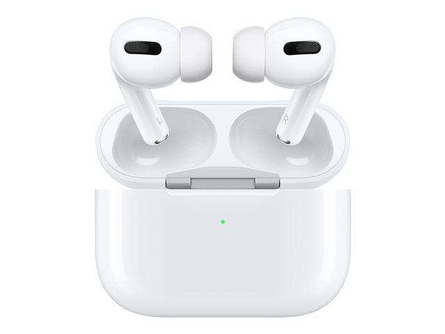 Apple AirPods Pro – Auricolari veramente wireless con microfono – in-ear – Bluetooth – eliminazione rumore attivata [ TT795709 ]