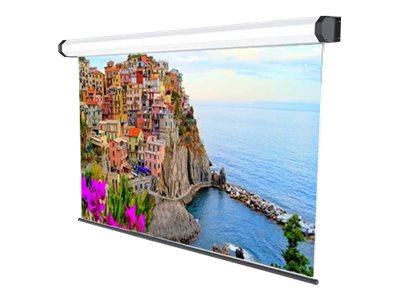 SOPAR Amalfi – Schermo per proiezione – montaggio a soffitto, montaggio a parete – motorizzato – 110 pollici (279 cm) – 1:1 – Balta White – bianco, RAL 9010 [ TT792497 ]