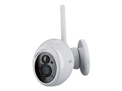 Atlantis Land +CAM HD 7500 PC7500-OUT2 – Telecamera di sorveglianza connessa in rete – per esterno – colore (Giorno e notte) – 2 MP – 1920 x 1080 – focale fisso – audio – wireless – Wi-Fi – LAN 10/100 – H.264 – 5 V c.c. [ TT721374 ]