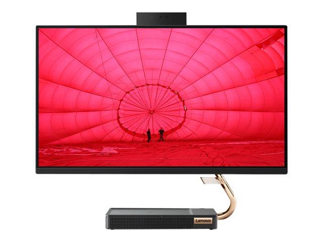 Lenovo IdeaCentre A540-24ICB F0EL – All-in-one – Core i5 9400T / 1.8 GHz – RAM 8 GB – SSD 256 GB – TCG Opal Encryption, NVMe – UHD Graphics 630 – GigE – WLAN: Bluetooth 4.0, 802.11ac – Win 10 Home 64 bit -monitor: LED 23.8″ 1920 x 1080 (Full HD) – tastiera: italiana [ TT798724 ]