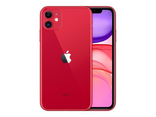 Apple iPhone 11 – (PRODUCT) RED Special Edition – smartphone – dual SIM – 4G Gigabit Class LTE – 64 GB – GSM – 6.1″ – 1792 x 828 pixel (326 ppi) – Liquid Retina HD display (telecamera anteriore 12 MP) – 2x telecamere posteriori – rosso [ TT795455 ]