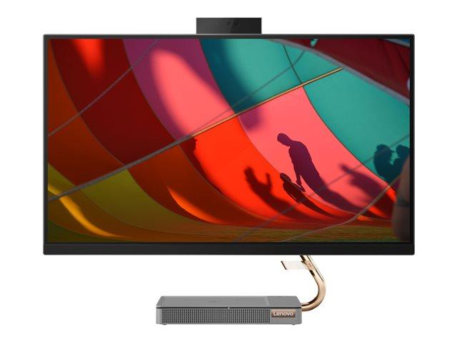Lenovo IdeaCentre A540-27ICB F0EK – All-in-one – con Supporto – Core i5 9400T / 1.8 GHz – RAM 8 GB – SSD 256 GB – TCG Opal Encryption, NVMe, HDD 2 TB – Radeon RX 560X – GigE – WLAN: Bluetooth 4.0, 802.11a/b/g/n/ac – Win 10 Home 64 bit -monitor: LED 27″ 2560 x 1440 (WQHD) – tastiera: italiana [ TT803011 ]