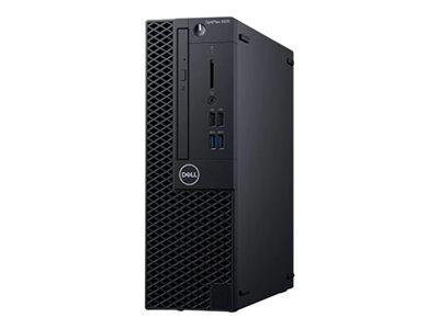 Dell OptiPlex 3070 – SFF – 1 x Core i5 9500 / 3 GHz – RAM 8 GB – SSD 256 GB – masterizzatore DVD – UHD Graphics 630 – GigE – Win 10 Pro Edizione a 64 bit -monitor: nessuno – BTS – con 1 anno di base in sede [ TT793000 ]