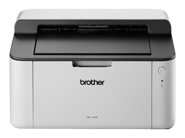 Brother HL-1110 – Stampante – in bianco e nero – laser – A4/Legal – 2400 x 600 dpi – fino a 20 ppm – capacità 150 fogli – USB 2.0 [ TT226724 ]