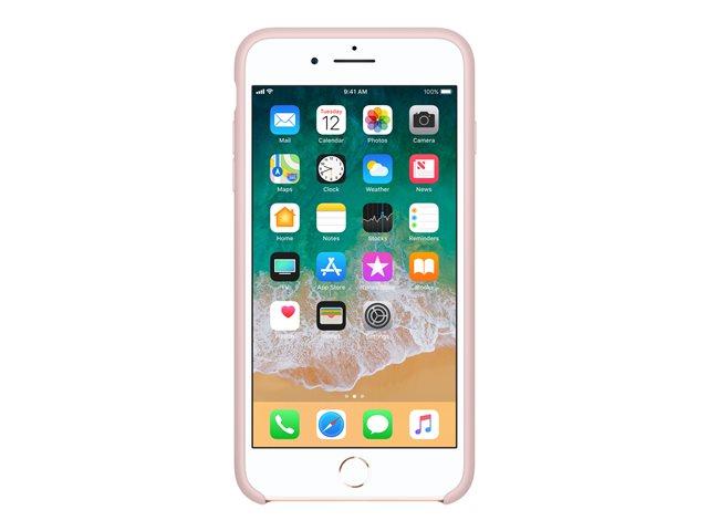 Apple – Copertina per cellulare – silicone – sabbia rosa – per iPhone 7 Plus, 8 Plus [ TT552972 ]