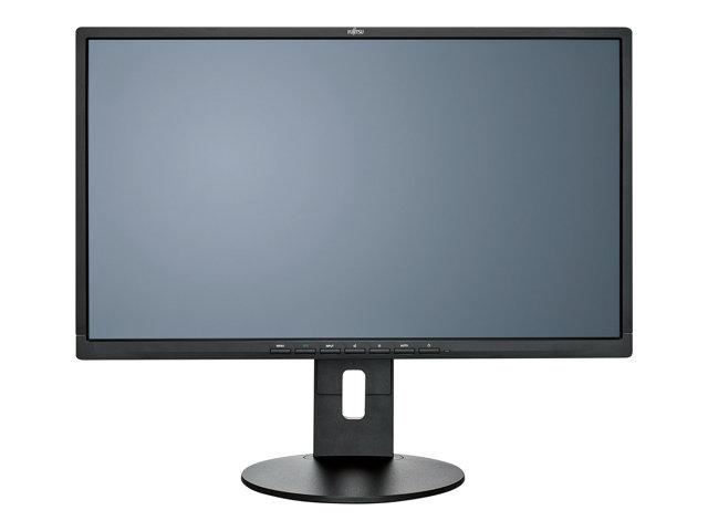 Fujitsu B24-8 TS Pro – Monitor a LED – 23.8″ – 1920 x 1080 Full HD (1080p) – 250 cd/m² – 1000:1 – 5 ms – HDMI, DVI-D, VGA, USB – altoparlanti – nero – per ESPRIMO C910-L, D556/2/, D757/, D757/E94+, P556, P556/2/, Q520/K, Q956/MRE [ TT163993 ]