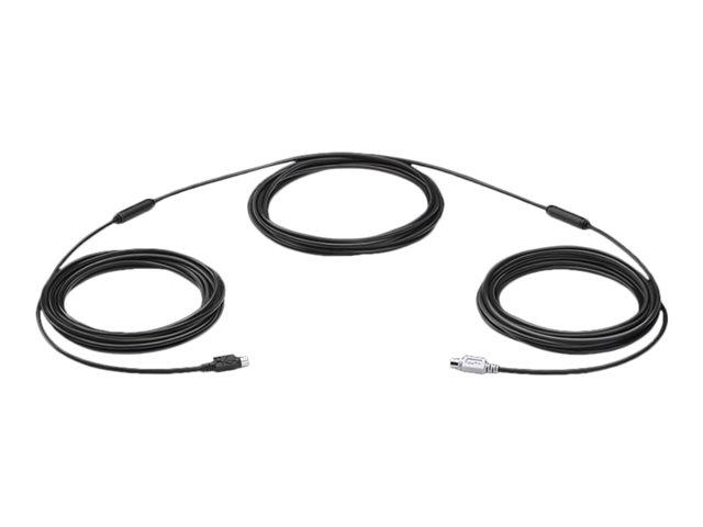 Logitech GROUP – Prolunga per fotocamera – PS/2 (M) a PS/2 (M) – 15 m [ TT412974 ]