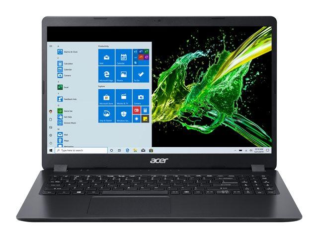 Acer Aspire 3 A315-56-35RX – Core i3 1005G1 / 1.2 GHz – Win 10 Home 64 bit – 8 GB RAM – 256 GB SSD – 15.6″ 1920 x 1080 (Full HD) – UHD Graphics – Wi-Fi – nero scisto – tast: italiana [ TT803108 ]