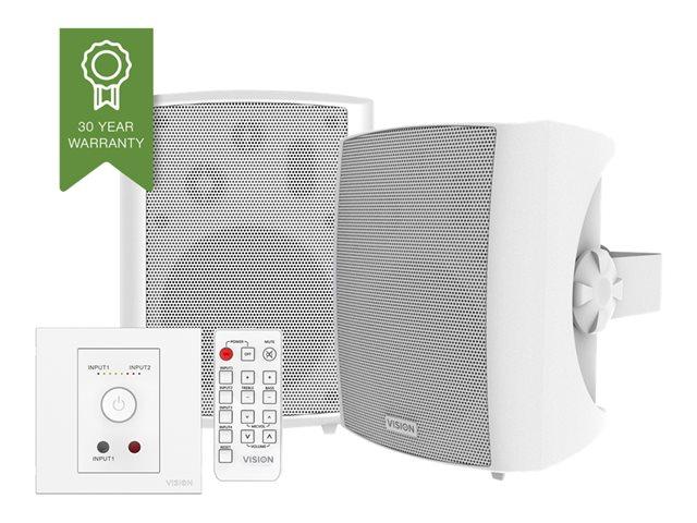 Vision Techconnect SP-1800+TC3-AMP – Sistema audio – bianco [ TT417154 ]