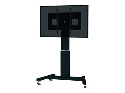 NewStar PLASMA-M2500 – Carrello per LCD / schermo al plasma / lettore multimediale / mini PC (motorizzato) – nero, RAL 9005 – dimensione schermo: 42″-100″ [ TT287185 ]