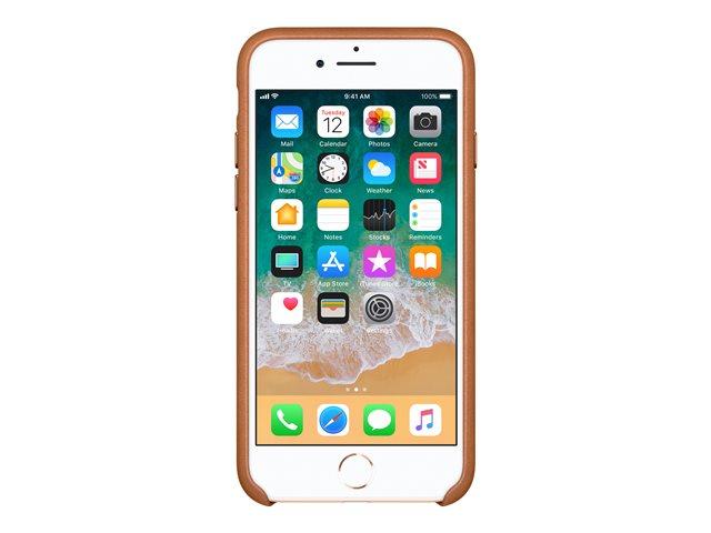 Apple – Copertina per cellulare – pelle – marrone saddle – per iPhone 7, 8 [ TT552976 ]