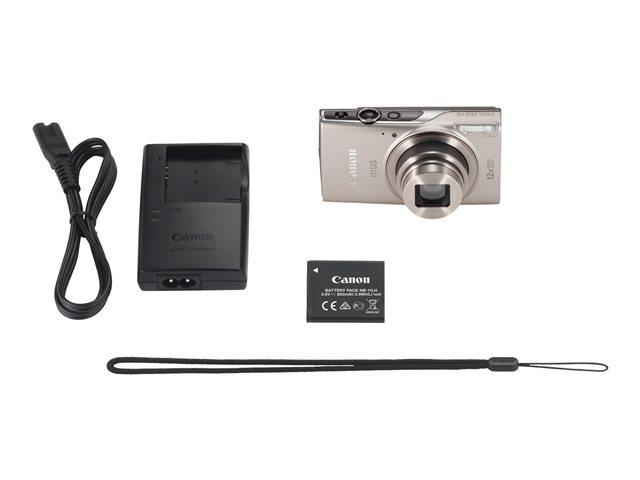 Canon IXUS 285 HS – Fotocamera digitale – compatta – 20.2 MP – 1080p / 30 fps – 12 zoom ottico x – Wi-Fi, NFC – argento [ TT150375 ]