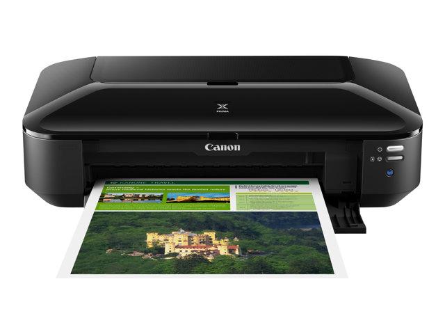 Canon PIXMA iX6850 – Stampante – colore – ink-jet – Ledger, A3 Plus – fino a 14.5 ipm (mono) / fino a 10.4 ipm (colore) – capacità 150 fogli – USB 2.0, LAN, Wi-Fi(n) [ TT127346 ]