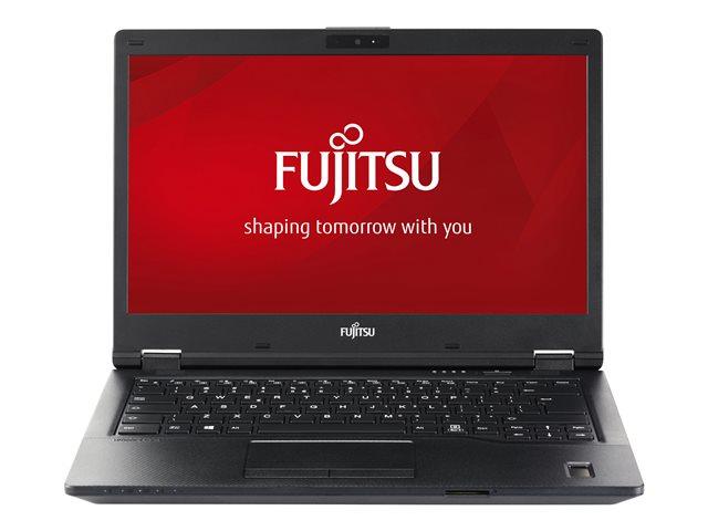 Fujitsu LIFEBOOK E449 – Core i7 8550U / 1.8 GHz – Win 10 Pro Edizione a 64 bit – 16 GB RAM – 512 GB SSD SED, NVMe, EraseDisk – 14″ IPS 1920 x 1080 (Full HD) – UHD Graphics 620 – Wi-Fi, Bluetooth – nero [ TT792940 ]