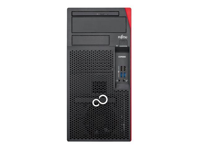 Fujitsu ESPRIMO P558/E94+ – Micro tower – 1 x Core i7 9700 / 3 GHz – RAM 16 GB – SSD 512 GB – NVMe, HDD 1000 GB – masterizzatore DVD / Blu-ray – Quadro P400 / UHD Graphics 630 – GigE – Win 10 Pro Edizione a 64 bit -monitor: nessuno [ TT794103 ]