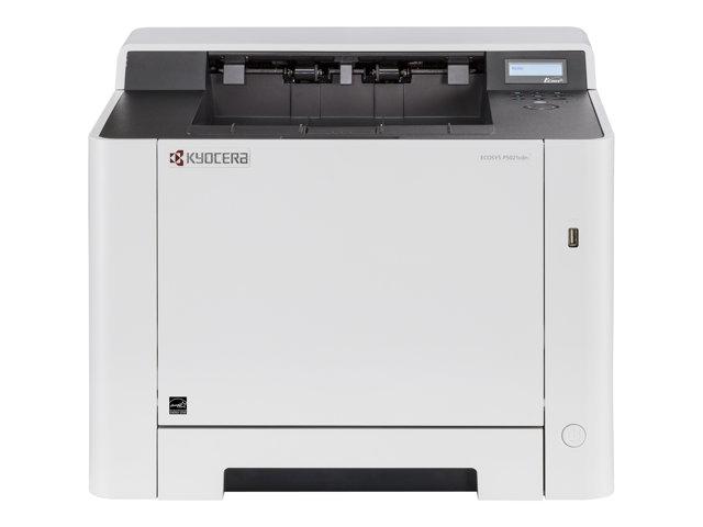 Kyocera ECOSYS P5021cdn – Stampante – colore – Duplex – laser – A4/Legal – 9600 x 600 dpi – fino a 21 ppm (mono) / fino a 21 ppm (colore) – capacità 300 fogli – USB 2.0, Gigabit LAN, host USB [ TT198483 ]