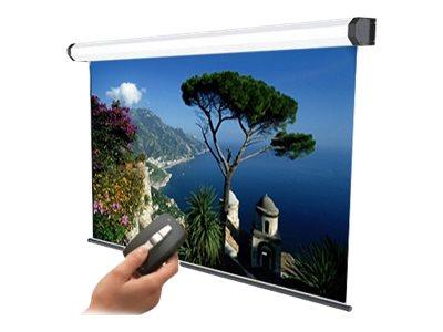 SOPAR Amalfi – Schermo per proiezione – montaggio a soffitto, montaggio a parete – motorizzato – 118 pollici (300 cm) – 4:3 – bianco – bianco, RAL 9010 [ TT792435 ]