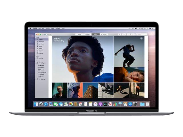Apple MacBook Air with Retina display – Core i3 1.1 GHz – macOS Catalina 10.15 – 8 GB RAM – 256 GB SSD – 13.3″ IPS 2560 x 1600 (WQXGA) – Iris Plus Graphics – Wi-Fi, Bluetooth – argento – tast: italiana [ TT799818 ]