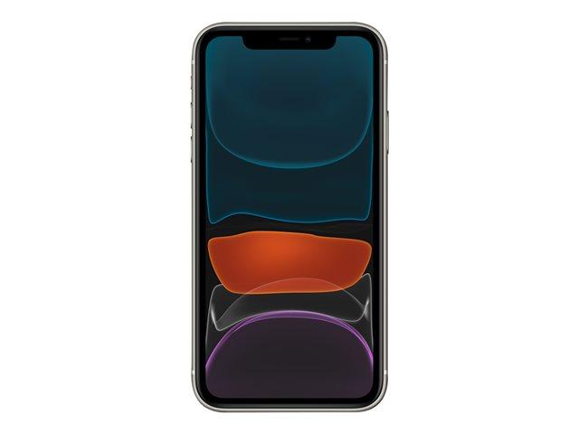 Apple iPhone 11 – Smartphone – dual SIM – 4G Gigabit Class LTE – 128 GB – GSM – 6.1″ – 1792 x 828 pixel (326 ppi) – Liquid Retina HD display (telecamera anteriore 12 MP) – 2x telecamere posteriori – bianco [ TT795463 ]