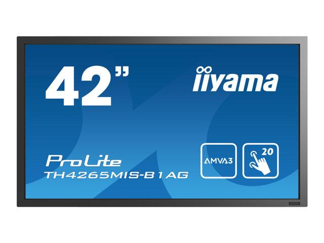 Iiyama ProLite TH4265MIS-B1AG – 42″ Classe display LED – segnaletica digitale – con schermo tattile – 1080p (Full HD) – nero [ TT201298 ]