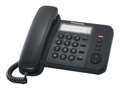 Panasonic KX-TS520EX1B – Telefono con filo – nero [ TT227179 ]
