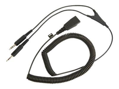 Jabra – Cavo per cuffie – disconnessione rapida a jack da 3,5 mm (M) – 2 m [ TT147632 ]