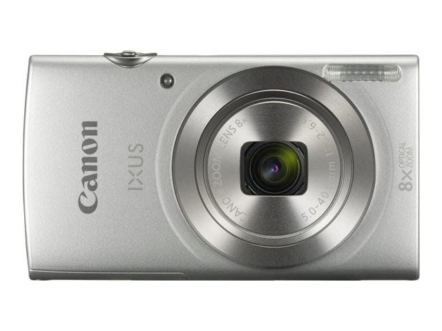 Canon IXUS 185 – Fotocamera digitale – compatta – 20.0 MP – 720p / 25 fps – 8zoom ottico x – argento [ TT225159 ]