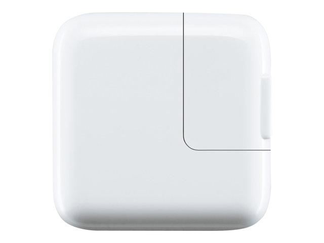 Apple 12W USB Power Adapter – Alimentatore – 12 Watt – per 12.9-inch iPad Pro, 9.7-inch iPad Pro, iPad mini 2, 4, iPhone 6s, SE [ TT51340 ]