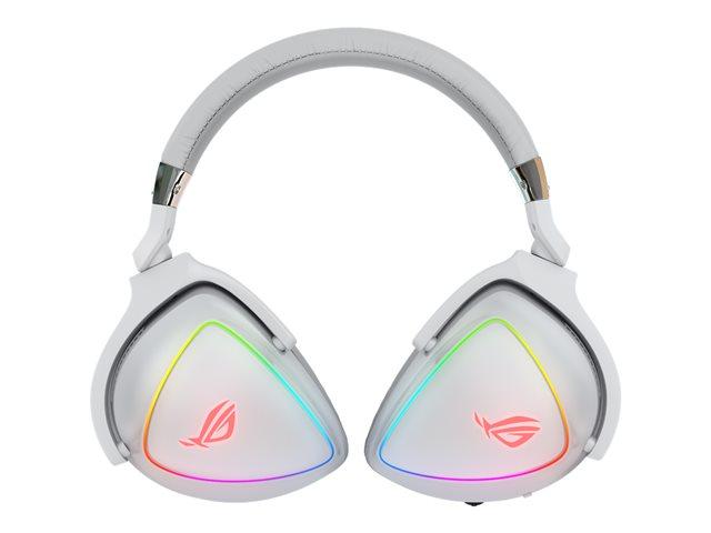 ASUS ROG Delta – White Edition – auricolare con microfono – dimensione completa – cablato – USB, USB-C – bianco [ TT799859 ]