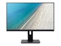Acer B247Y – Monitor a LED – 23.8″ – 1920 x 1080 Full HD (1080p) – IPS – 250 cd/m² – 4 ms – HDMI, VGA, DisplayPort – altoparlanti – nero [ TT692251 ]