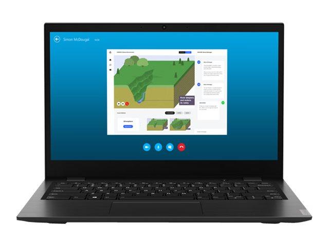 Lenovo 14w 81MQ – A6 9220C / 1.8 GHz – Windows 10 Pro National Academic – 4 GB RAM – 128 GB eMMC eMMC 5.1 – 14″ 1920 x 1080 (Full HD) – Radeon R5 – Wi-Fi, Bluetooth – nero – tast: QWERTY italiana [ TT791802 ]