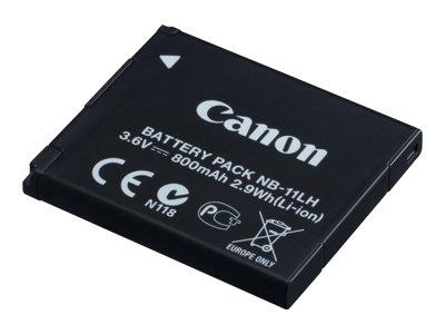 Canon NB-11LH – Batteria fotocamera Li-Ion 800 mAh – per IXUS 17X, 18X, 190; IXY 180, 190, 650; PowerShot SX412, SX430; PowerShot ELPH 180, 360 [ TT225447 ]
