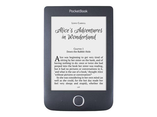 PocketBook Basic 3 – eBook reader – 8 GB – 6″ monocromatico E Ink Carta (800 x 600) – Wi-Fi – nero [ TT710408 ]