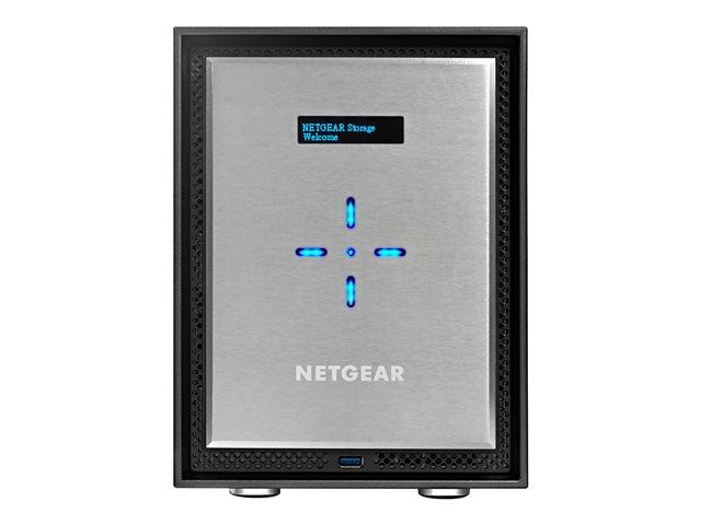 NETGEAR ReadyNAS 626X – Server NAS – 6 alloggiamenti – SATA 6Gb/s – RAID 0, 1, 5, 6, 10, JBOD – Gigabit Ethernet / 10 Gigabit Ethernet – iSCSI [ TT190223 ]
