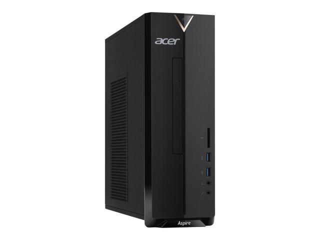 Acer Aspire XC-830 – SFF – Celeron J4025 / 2 GHz – RAM 4 GB – SSD 256 GB – UHD Graphics 600 – GigE – WLAN: 802.11a/b/g/n/ac, Bluetooth 4.2 – Win 10 Home 64 bit -monitor: nessuno [ TT803388 ]