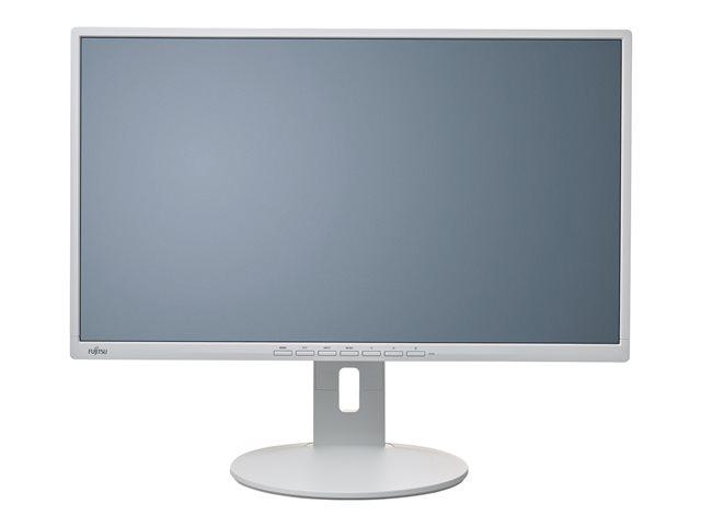 Fujitsu B27-8 TE Pro – Monitor a LED – 27″ (27″ visualizzabile) – 1920 x 1080 Full HD (1080p) – IPS – 300 cd/m² – 1000:1 – 5 ms – HDMI, VGA, DisplayPort – altoparlanti – grigio marmorizzato [ TT691480 ]
