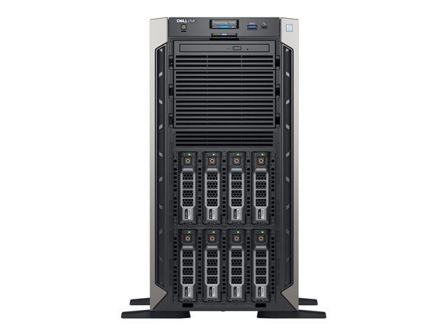 Dell EMC PowerEdge T340 – Server – tower – 5U – 1 via – 1 x Xeon E-2124 / 3.3 GHz – RAM 8 GB – SAS – hot-swap 3.5″ – HDD 1 TB – masterizzatore DVD – G200eR2 – GigE – senza SO -monitor: nessuno – BTP [ TT788199 ]