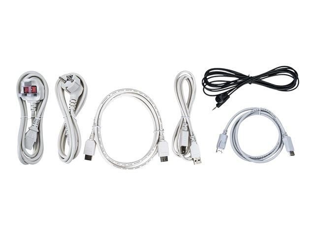iiyama ProLite TF5538UHSC-W2AG – 55″ Classe (55″ visualizzabile) display LED – segnaletica digitale interattiva – con touch screen (multi touch) – 4K UHD (2160p) 3840 x 2160 – bianco opco [ TT800858 ]