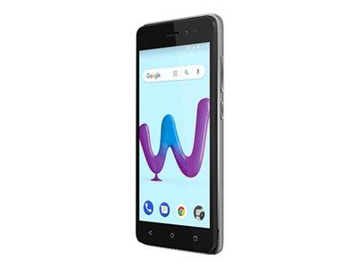 Wiko SUNNY 3 – Smartphone – dual SIM – 3G – 8 GB – microSDXC slot – GSM – 5″ – 854×480 pixel (196 ppi) – RAM 512 MB – 5 MP (telecamera anteriore 2 MP) – Android – argento [ TT713649 ]