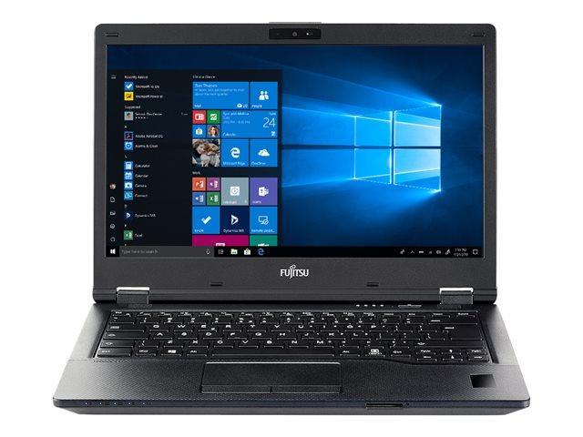 Fujitsu LIFEBOOK E549 – Core i5 8265U / 1.6 GHz – Win 10 Pro Edizione a 64 bit – 8 GB RAM – 256 GB SSD SED, TCG Opal Encryption, NVMe, EraseDisk – 14″ IPS 1920 x 1080 (Full HD) – UHD Graphics 620 – Wi-Fi, Bluetooth [ TT793191 ]