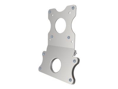 NewStar Apple iMac (post-2012) VESA mount adapter plate FPMA-VESAMAC2127 – Componente di montaggio (adattatore VESA) per display LCD – metallo – argento – dimensione schermo: 21.5″-27″ [ TT196857 ]