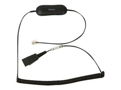 Jabra GN1216 – Cavo per cuffie – RJ-9 (M) a disconnessione rapida (M) – 2 m – per Avaya one-X Deskphone Edition 96XX, Jabra GN 2000, GN1900, GN2000, BIZ 2400 3in1, GN2000 [ TT147630 ]