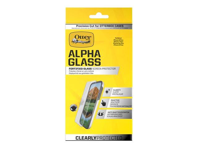 OtterBox Alpha Glass – Protezione per schermo – trasparente – per Apple iPhone 7 Plus [ TT197075 ]